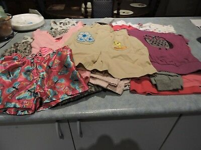 Bulk lot of girls size 3 and 4 clothing  14  items