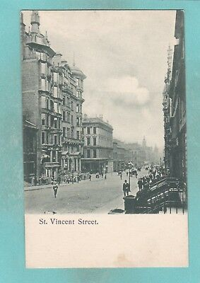 Small Post Card of St.Vincent Street, Glasgow,.E39.