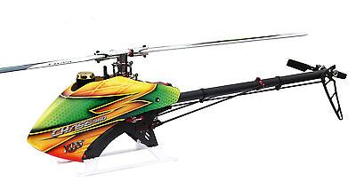 CHASE360 RC Helicopter KIT No Blades No Electronics Unassembled Tail Upgraded