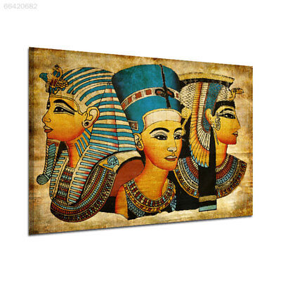 ED73 Retro Ancien Egyptian Murals Full Image Wall Picture Oil Painting 40x60cm