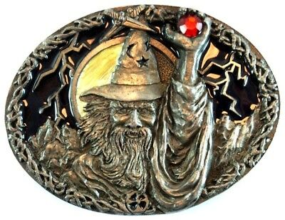 Collectable Wizard Belt Buckle Masterpiece Collection of America BA483