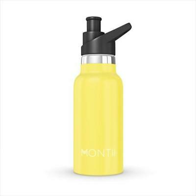 NEW MontiiCo Insulated Drink Bottle 350ml - Yellow