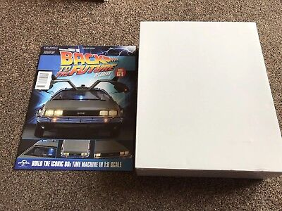 Eaglemoss Build the Back To The Future Delorean Time Machine - Issue 61
