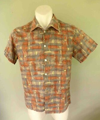 Fifties or Sixties Casual Shirt: Small, very good vintage condition