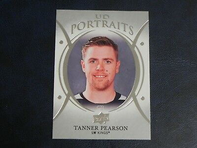 2018-19 18/19 Upper Deck UD Portraits P-31 Tanner Pearson Los Angeles Kings