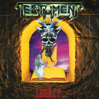 """Testament The Legacy Poster 32x32"""" Album Cover Music CD Fabric Print"""