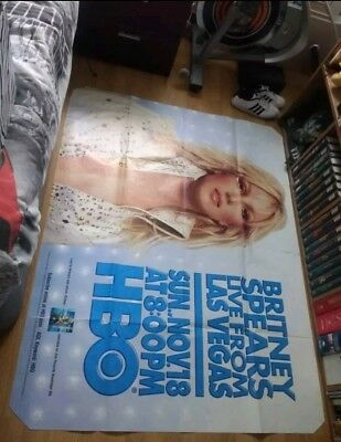 Britney Spears Live From Las Vegas Poster Hbo