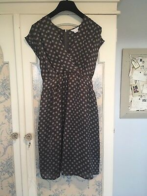 ea7a6a20a91ae5 Mamas & Papas Maternity dress Size - 14 Lovely Dress Good Condition Grey  Spots