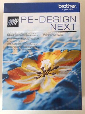 Brother PE DESIGN NEXT 9 Stricksoftware Software 100% original NEU & unbenutzt