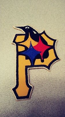 Pittsburgh Penguins Steelers Pirates Embroidered Patch NHL NFL MLB