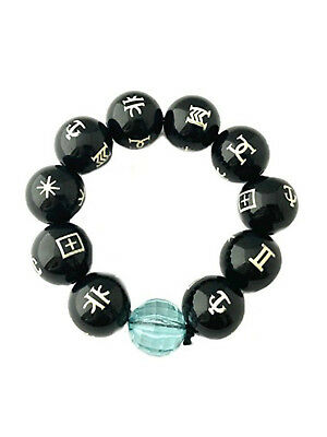 Black Panther KIMOYO Bracelet Beads Wakanda King T'Challa Cosplay Jewelry Prop