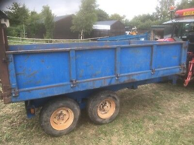 Marston tipping trailer 8Ton