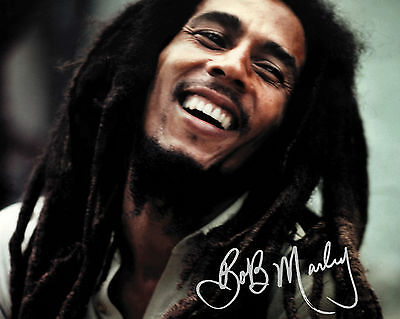 Bob Marley - 10X8 Pre Printed Lab Quality Photo Print