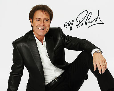Cliff Richard #2 - 10X8 Pre Printed Lab Quality Photo Print