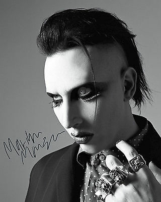 Marilyn Manson #2 - 10X8 Pre Printed Lab Quality Photo Print