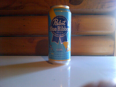 PABST  BLUE RIBBON  Low Calorie 16oz ALUMINUM BEER CAN New