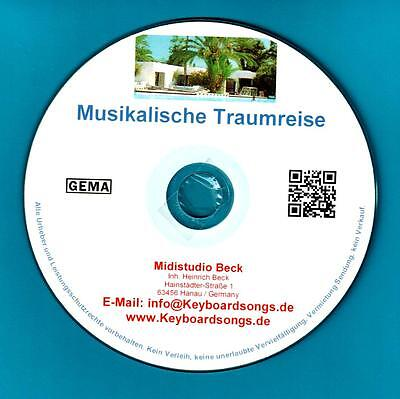 Midifiles KEYBOARDSONGS Musikalische Traumreise incl. TYROS/GENOS Spezialmidis