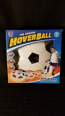 Hover Ball LED Light Flashing Arrival Air Power Soccer Ball Disc Indoor Gliding