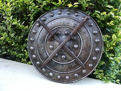 Vintage  Medievel Style Armour Wall Shield