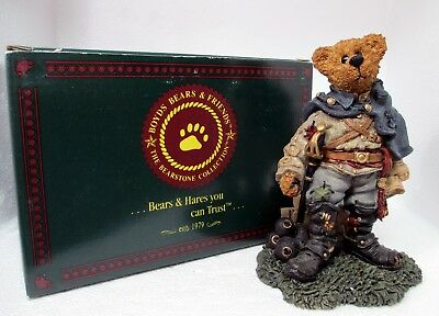 1997 Civil War Stonewall THE REBEL Boyds Bearstone Collection #228302