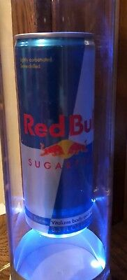 Red Bull Lighted LED Can Lamp Table Light Display Made in Austria