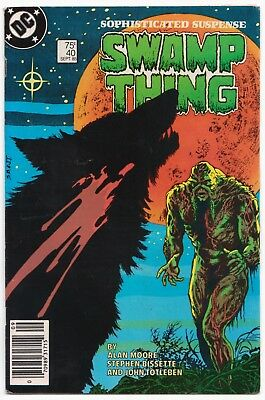 Saga of The Swamp Thing #40 (1985) 8.0 VF John Constantine appearance! DC Key!