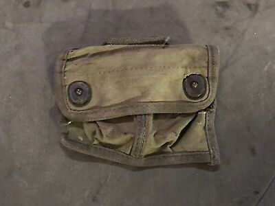 91F Original Wwii Us Army M1942 Officer Compass Carry Pouch