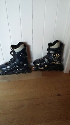 Concord Two inline roller skates UK3