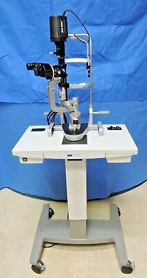 Haag-Streit BQ 900 LED Slit Lamp BQ900 LED with HSM-901 Table Stand Portable