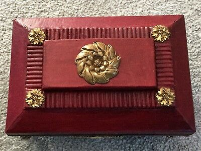 Red Leather Casket