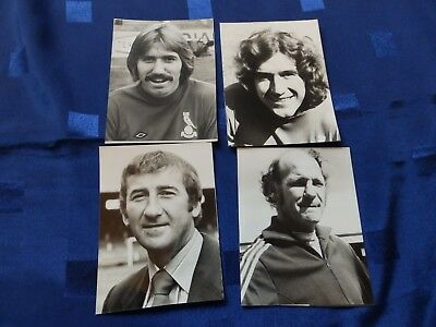 4 Press Photos - Oldham Athletic  individual players 1970's