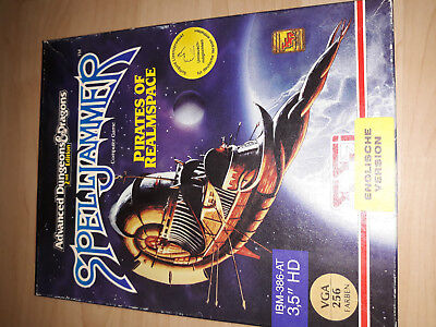 AD&D2nd Spelljammer-Pirates of Realmspace- SSI PC-Game VGA 3,5 Zoll HD Softgold
