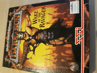 AD&D2nd Dark Sun-Wake of the Ravager- PC-Game von SSI TSR CD-Rom Mindscape