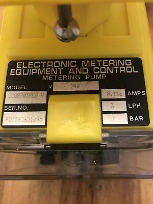 Electronic Metering Equipment And Control . Metering Pump 249v