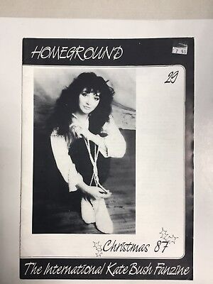 Kate Bush Homeground Magazine No 29