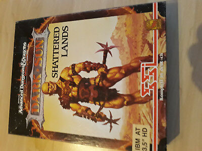 AD&D2nd Dark Sun Shattered Lands SSI PC-Game 3,5 Zoll HD