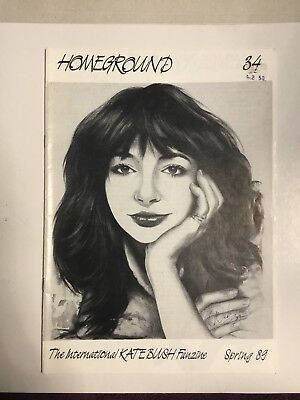Kate Bush Homeground Magazine  No 34
