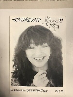 Kate Bush Homeground Magazine No 33