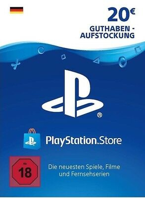 Sony PlayStation Network 20 Euro PSN Code