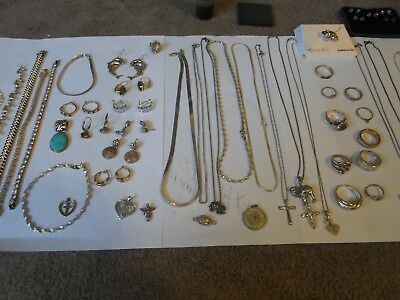 206 grams sterling silver jewelry not scrap silver
