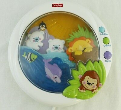 Fisher Price PRECIOUS PLANET Melodies & Motion Soother Crib Toy 2009 P5332