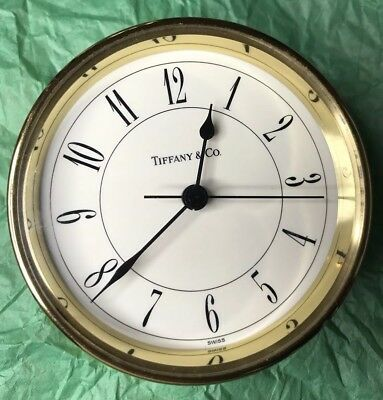 Tiffany & Co Swiss Made Table Clock Watch