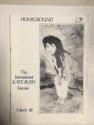 Kate Bush Homeground Magazine No 22