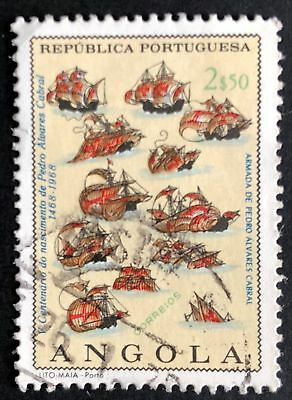 2e50 Cabral's Fleet Used 1968 Angola Stamp for Sale
