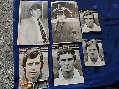 6 Press Photos - Reading  Football players / manager 70's/80's