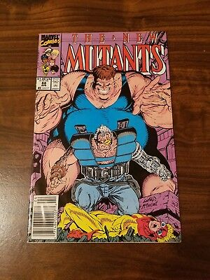 New Mutants #88 (April 1990, Marvel) 2nd app Cable