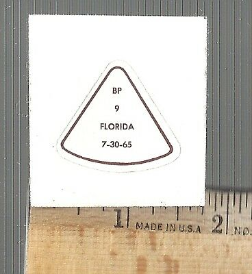 APOLLO-SATURN 1 as-104  Spacecraft  Launch CREW HARD HAT MISSION DECAL