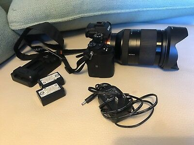 Sony Alpha a7R II 42.4MP Digital Camera - Black with Sel24240 lens.