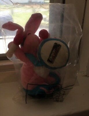 "New Vintage 1997 Energizer Bunny 7"" Collectible Plush Toy - Unopened, MIP"