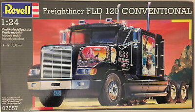 Freightliner FLD 120 Conventional, Maßstab 1/24, Revell 07557